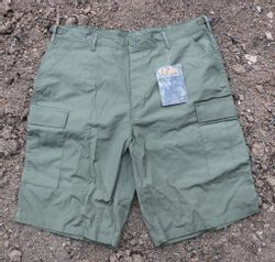 Battle Dress Uniform Shorts olive green