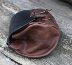 CEDRIC, Leather Medieval Bag