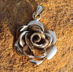 ROSE, bronze talisman