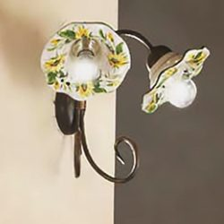 HELIA Ceramic Wall Lamp 2213-A2