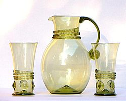 RENAISSANCE HISTORICAL GLASS SET