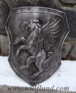 PEGASUS, hand made shield