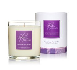 Heather and Wild Berries Candle Tumbler