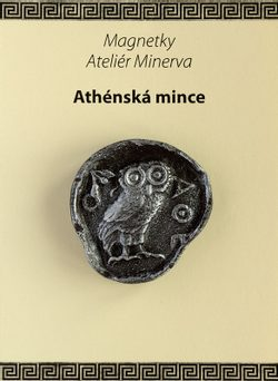 Athenian coin, magnet