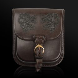 BOHEMIA, Leather Belt Bag - brown