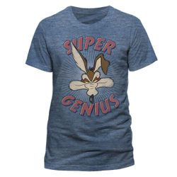 Looney Tunes - Super Genius, Unisex T-shirt - Blue