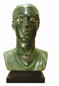 STATUE OF CHARIOTEER from DEPLHI