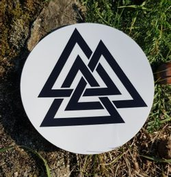 VALKNUT Car Sticker