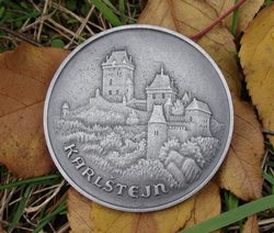 KARLSTEJN CASTLE, commemorative coin