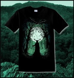 HERNE, The Guardian of the Forest, T-Shirt