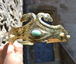 EYE OF HORUS - CROWN with aventurine