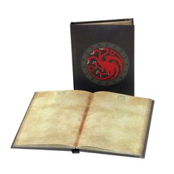 GAME of THRONES - Targaryen, notebook with light