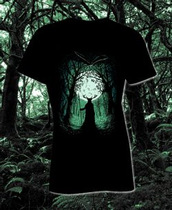 HERNE, The Guardian of the Forest, Ladie's T-Shirt