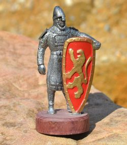 NORMAN WARRIOR Knight Painted Shiled
