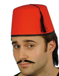 TURKISH CAP, costume rental