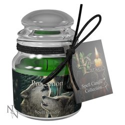 Protection Spell Candle - Lavender