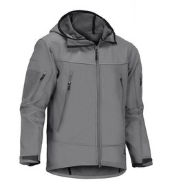 Harpagus Softshell Hoody Jacket - Solid Rock