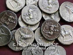 Taras, Didrachm. tin coin replica
