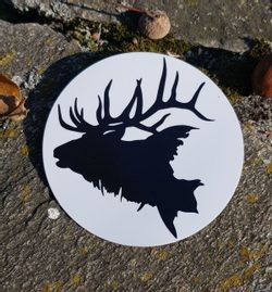 Deer, Car Sticker