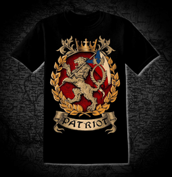 PATRIOT - Bohemia, T-Shirt