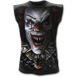 CIRCUS OF TERROR - Sleeveless T-Shirt Black