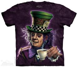 Mad Hatter, T-Shirt, The Mountain