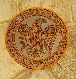 Odin's Raven, Wall Decoration