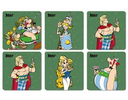 ASTERIX COASTERS The Legionary, 6-Pack