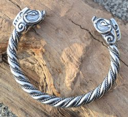 COLLACH, Celtic Boar, sterling silver bracelet