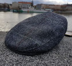 DONEGAL Irish Cap Wool grey