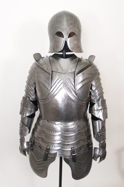Suit of Armor, decorative with stand