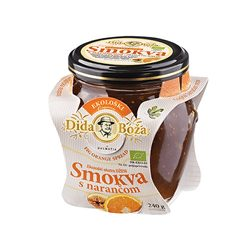 BIO fig jam with oranges 240 g - Dida Boža