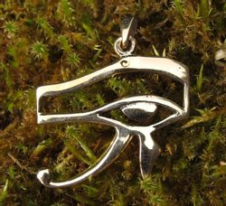 UDYAT the eye of Horus, bronze pendant