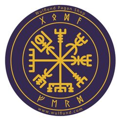 VEGVÍSIR, Viking Car Sticker