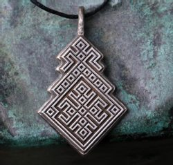 MOKOSH, Slavic Goddess of fertility, pendant