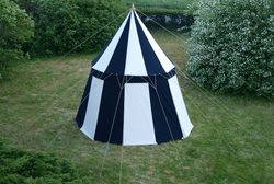 Medieval Umbrella Tent - cotton - 4m