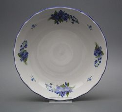 Bowl for compote, Rococo, Forget-me-not
