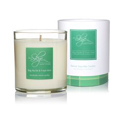 Bog Myrtle and Fresh Mint Votive Candle Tumbler