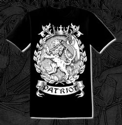 PATRIOT - Bohemia, T-Shirt, bw
