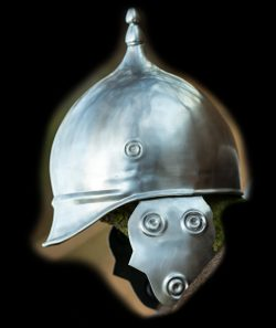 Celtic Helmet, steel
