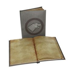 GAME of THRONES, Stark, notebook with light