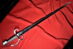 RENAISSANCE CAVALRY SWORD, harquebusier, Thirty Years War, replica