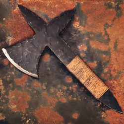 CRUSADER THROWING AXE