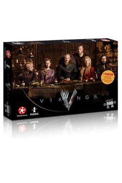 VIKINGS JIGSAW PUZZLE RAGNAR'S COURT, 500 pcs