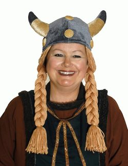 FUNNY VIKING WIG - costume rental