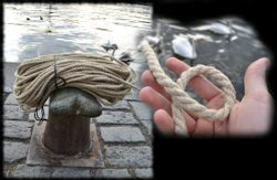 1 Meter of HEMP ROPE, 10 mm