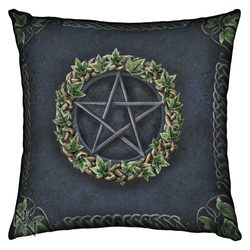 Cushion Ivy Pentagram