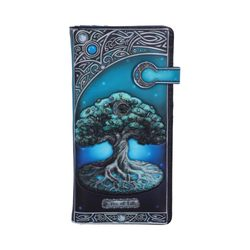 Tree of Life Embossed Purse 18.5cm