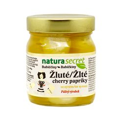 Yellow peppers with cheese 300 g - Natura Secret
