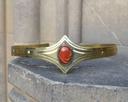 MEDIEVAL GOTHIC CROWN with jasper